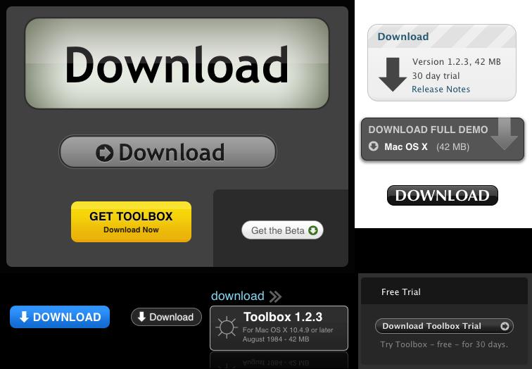 przyciski download
