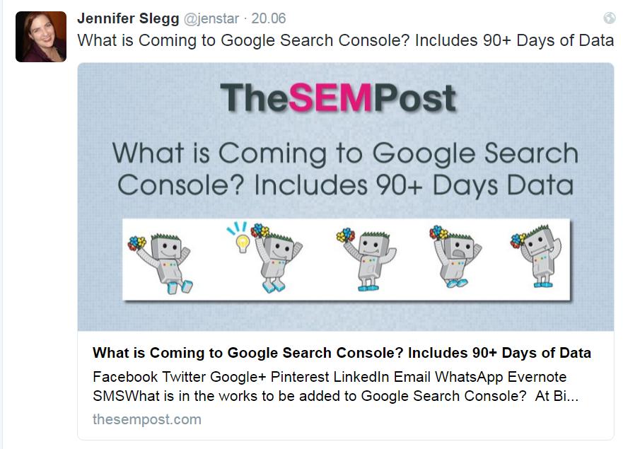 Okres raportowania w Google Search Console to obecnie max 90 dni - wkrótce może się to zmienić
