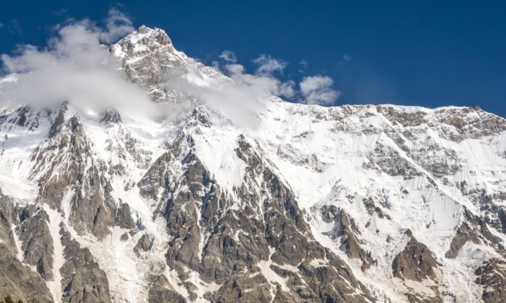 Nanga Parbat to góra, która zelektryzowała Polaków zimą 2018 roku