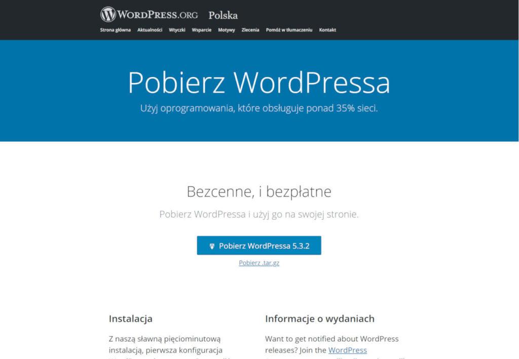 Szybka instalacja a strona WordPress
